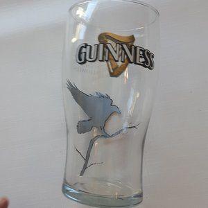 GUINNESS Pint Glass Rare Guinness Halloween glass